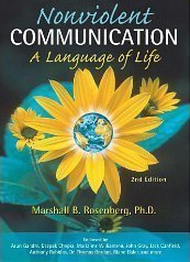Cover of Nonviolent Communication, replete with sunflower